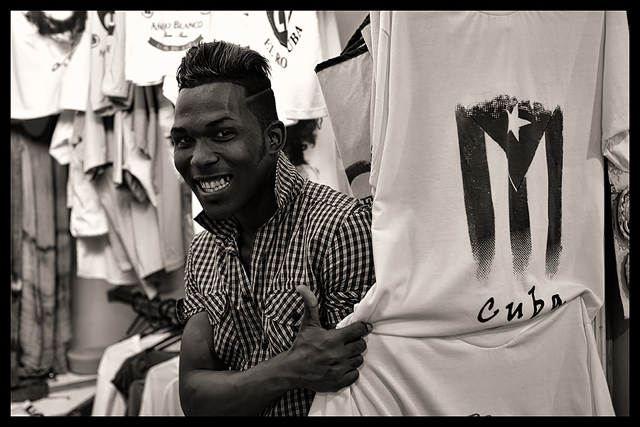 T-shirt Seller (Cuba, 2015)