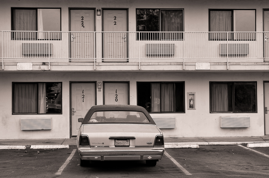Motel in Red Bluff (CA)