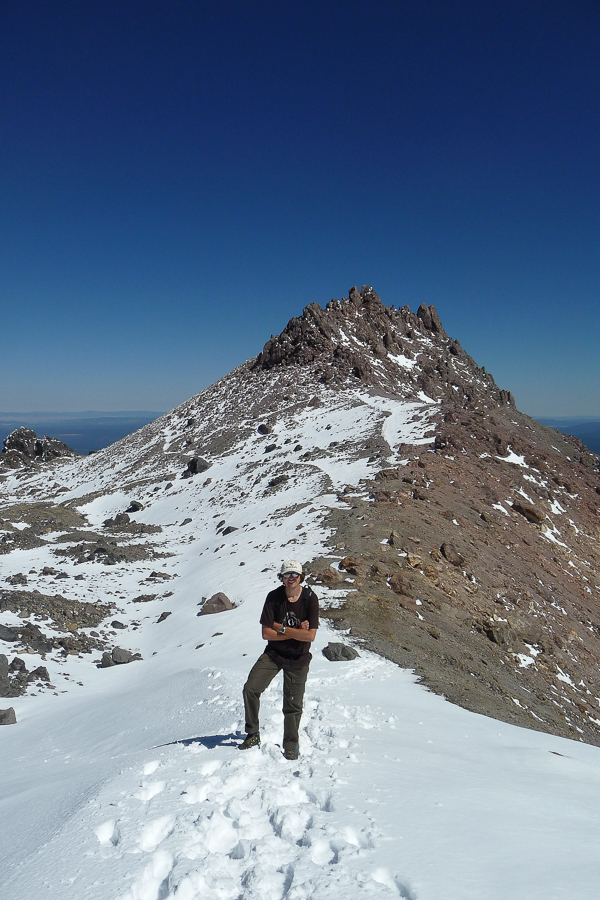 Summit Lassen Peak (photo by Dominique van der Elst)