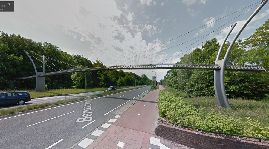 Eekhoornbrug | Squirrel Overpass (image for Google maps)