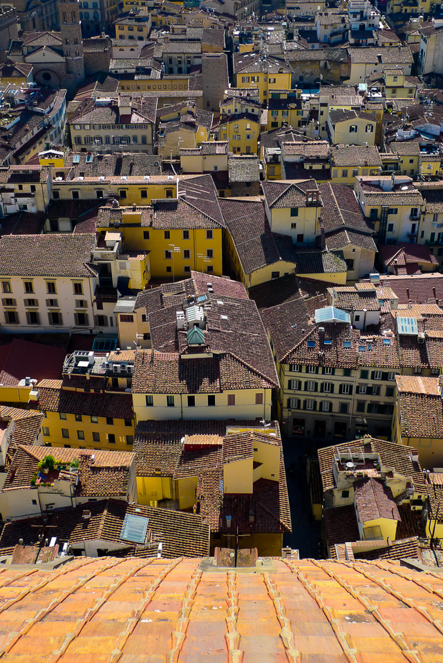 View from Florence Cathedral