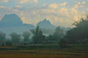 Sunrise (Laos 2007)
