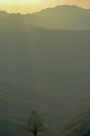 Mountain Range (Laos 2007)