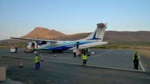 Cabo Verde Airlines (TACV) on Sao Nicolau