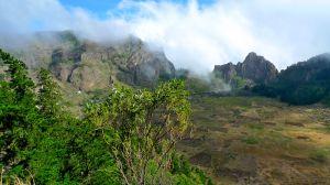 Crater at San Antao