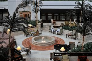 Lobby Intercontinental Hotel Muscat