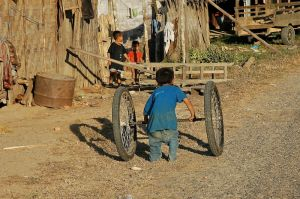 A man has got to have Wheels ! (Laos, 2007)