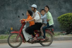 Family transport (China, 2008)