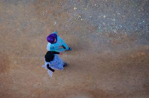 Two Women Walking (Morocco, 2011)