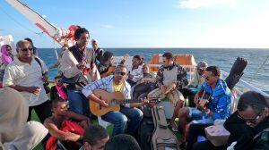 Musicians on Waves (Cape Verde, 2012)