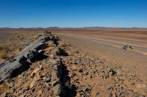 Picnic in the desert
