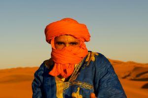Orange Turbaned Man