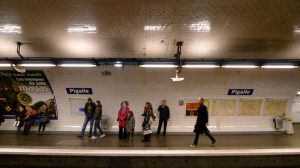 Subway Station Place Pigalle