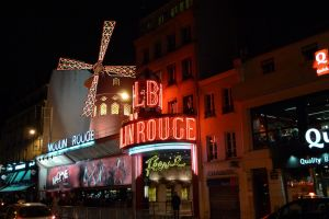 The (in)famous Moulin Rouge nightclub